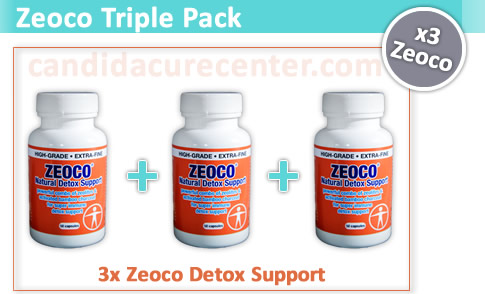 zeoco detox support best value pack